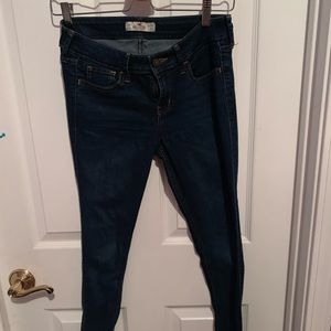 Hollister Dark Wash Super Skinny Jeans Size 1R
